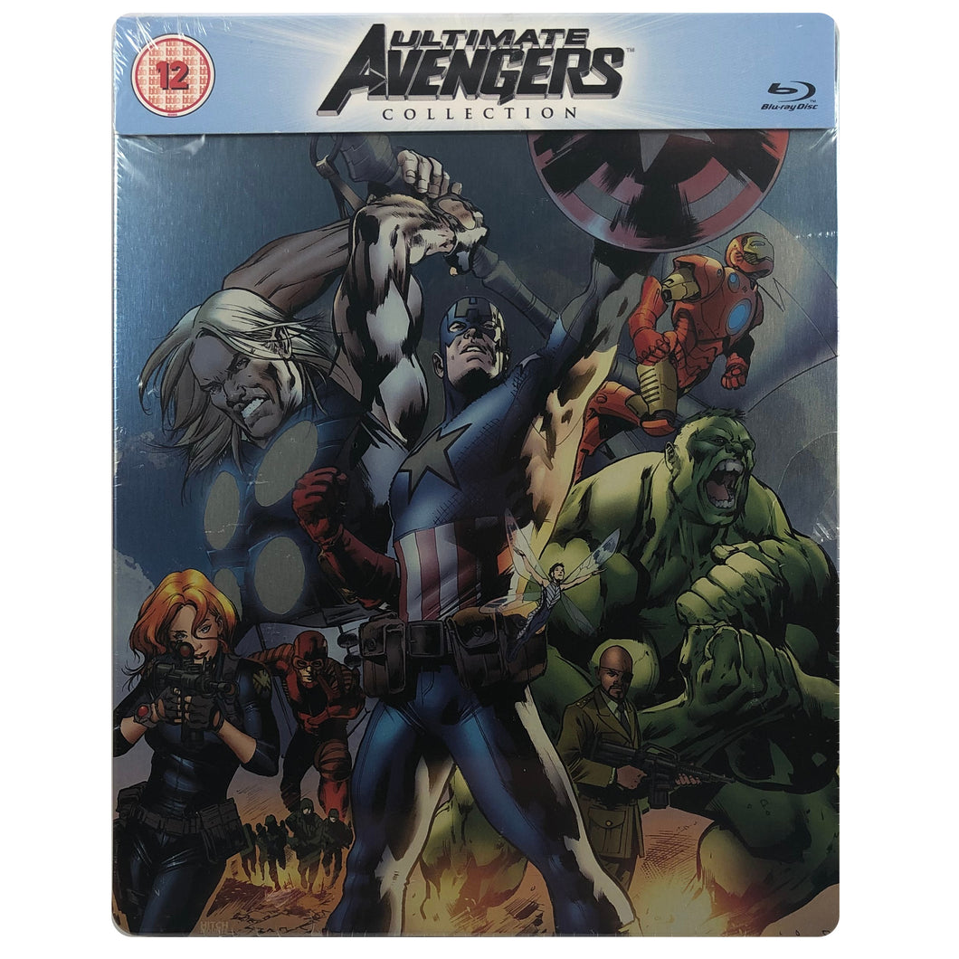 The Ultimate Avengers Collection Blu-Ray Steelbook