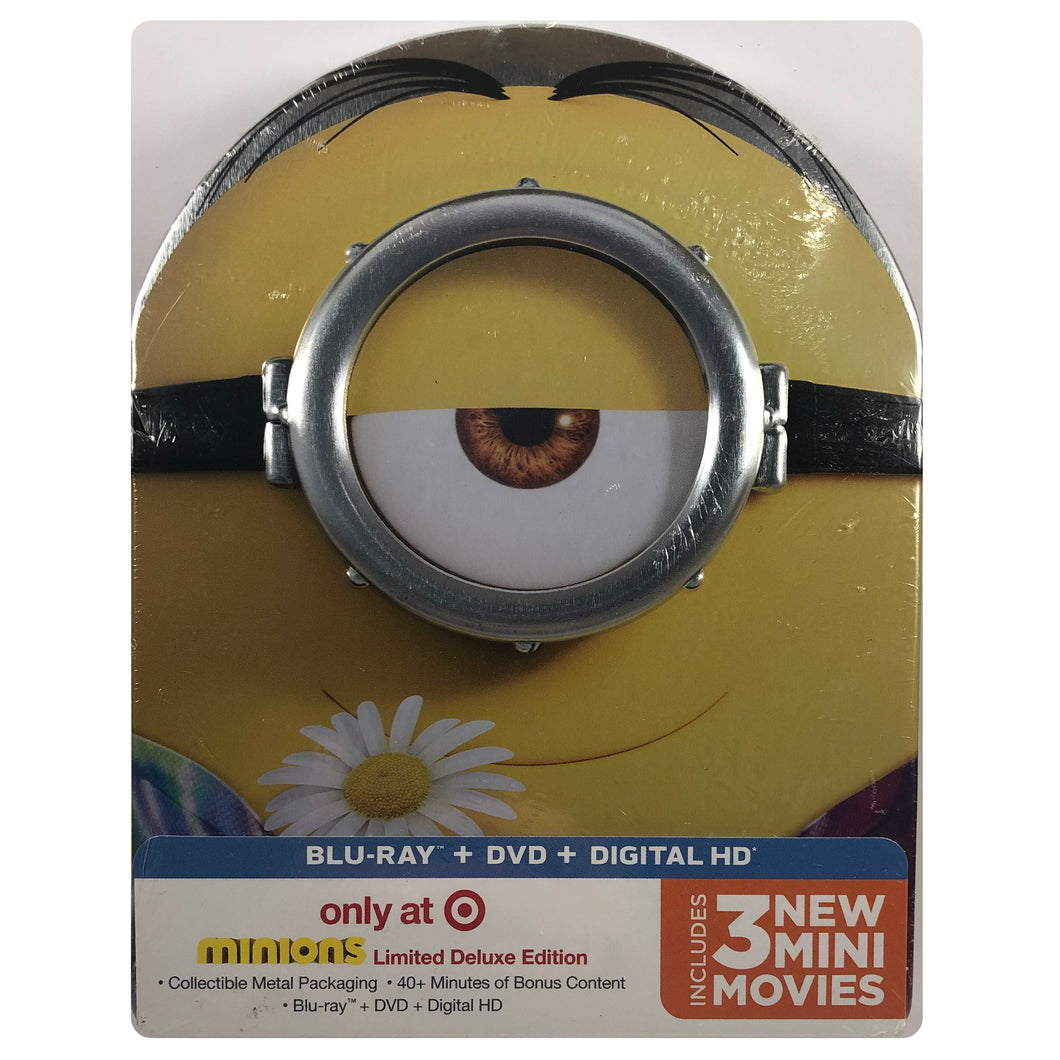 Minions - Limited Edition Steel Packaging