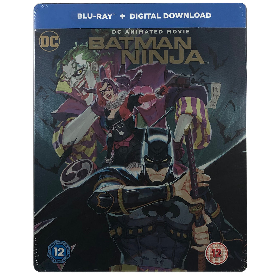 Batman Ninja Blu-Ray Steelbook - Slightly Bent and Small Dents