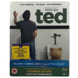 Ted Blu-Ray Steelbook - Bent Case