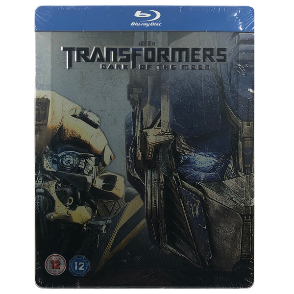 Transformers: Dark Of The Moon Blu-Ray Steelbook - Dented and Bent Case