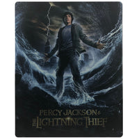 Percy Jackson and the Lightning Thief Blu-Ray Steelbook - Dented and Bent Case