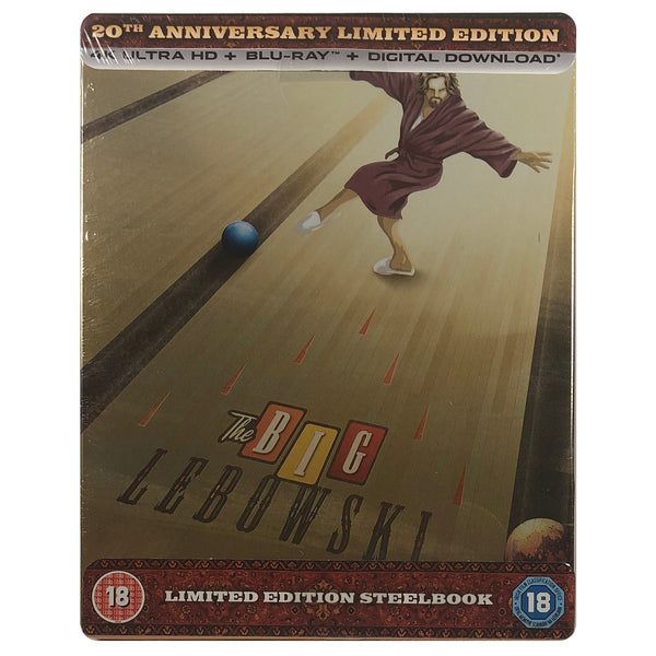 The Big Lebowski 4K Steelbook - Scratched