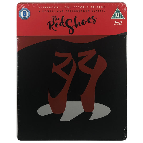 The Red Shoes Blu-Ray Steelbook - Scratch on Corner