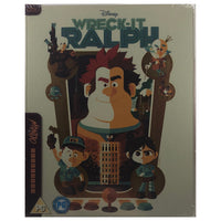 Wreck It Ralph Mondo X Blu-Ray Steelbook - Small Scratch