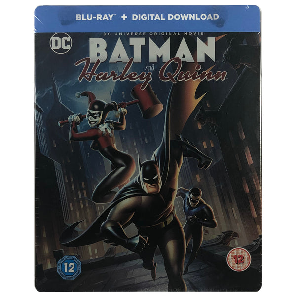 Batman And Harley Quinn Blu-Ray Steelbook - Very Light Scratch