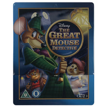 Load image into Gallery viewer, The Great Mouse Detective Blu-Ray Steelbook