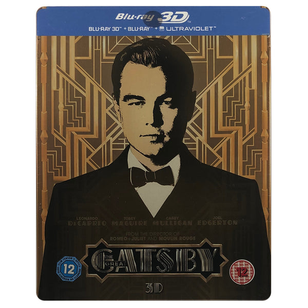The Great Gatsby Blu-Ray Steelbook