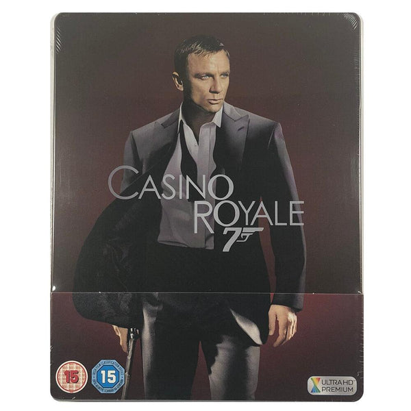 Casino Royale 4K Steelbook