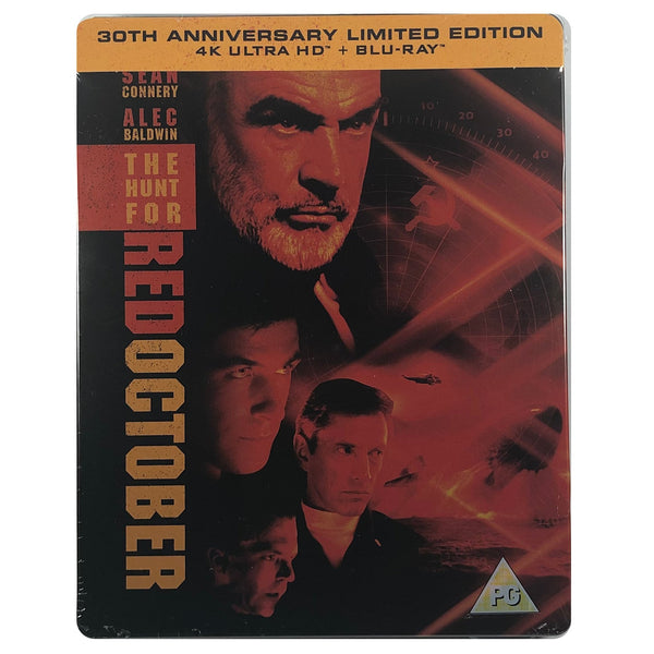 The Hunt For Red October 4K Steelbook