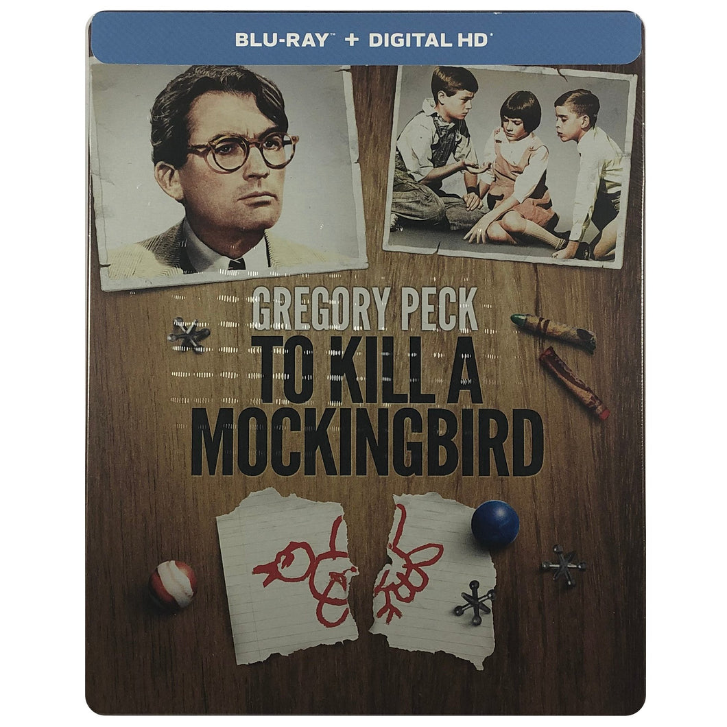 To Kill A Mockingbird Blu-Ray Steelbook