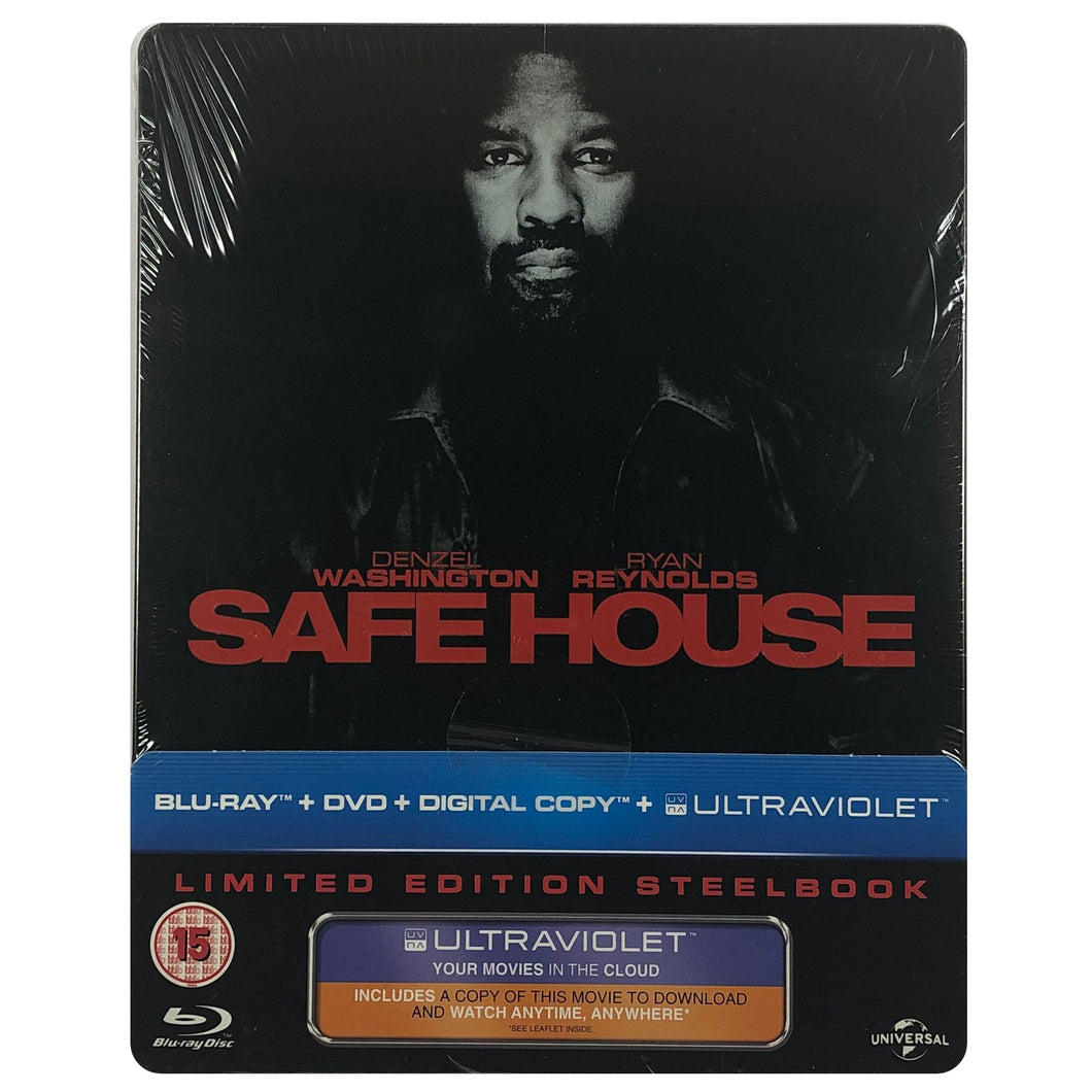 Safe House Blu-Ray Steelbook