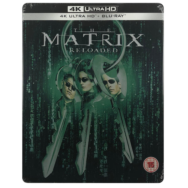 The Matrix Reloaded 4K Steelbook