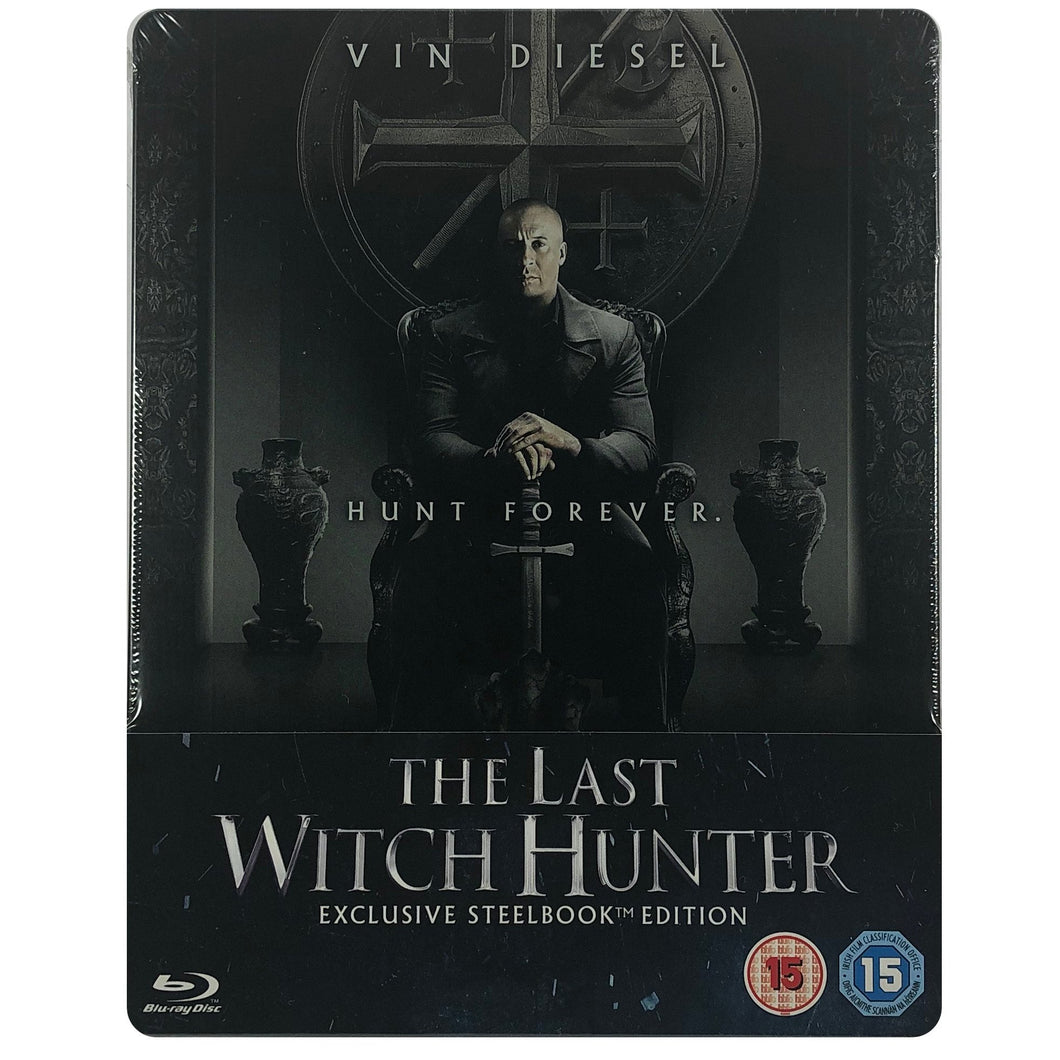 The Last Witch Hunter Blu-Ray Steelbook