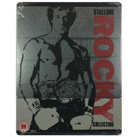 The Rocky Collection (1 - 6) Blu-Ray Steelbook