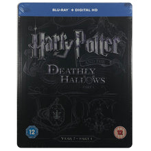 Load image into Gallery viewer, Harry Potter And The Deathly Hallows Part 1 Blu-Ray Steelbook