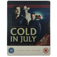 Cold In July Blu-Ray Steelbook
