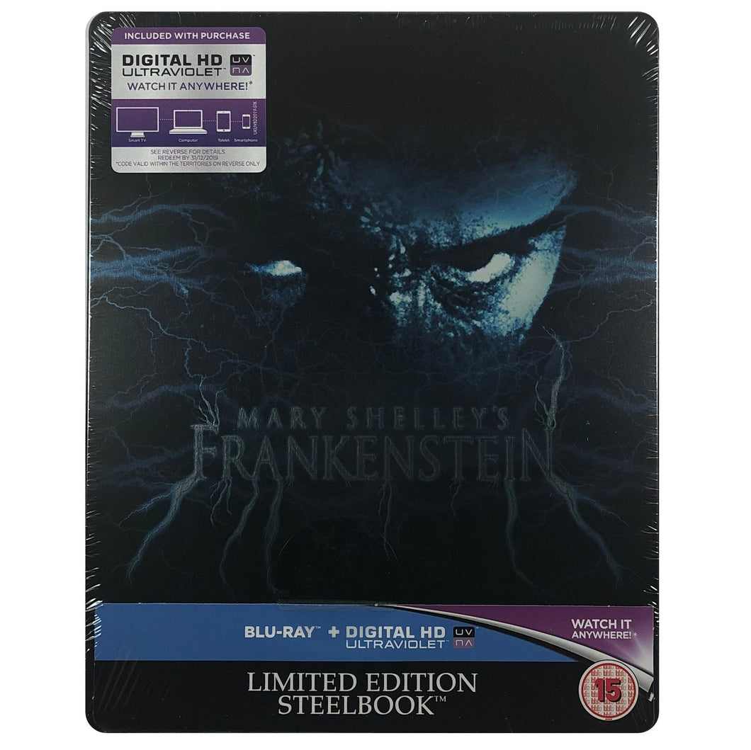 Mary Shelley's Frankenstein Blu-Ray Steelbook