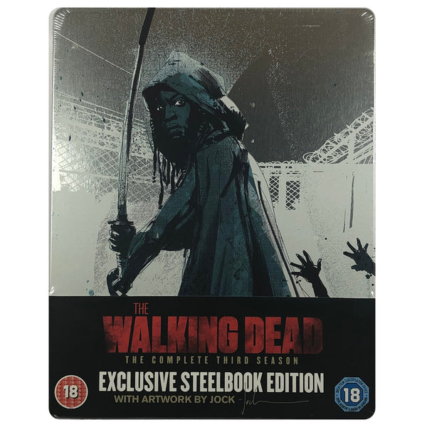 The Walking Dead: The Complete Third Season Blu-Ray Steelbook - Dented