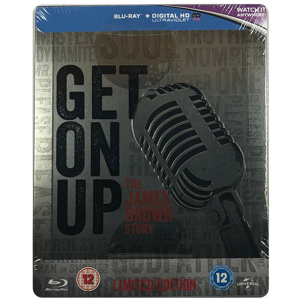 Get On Up Blu-Ray Steelbook