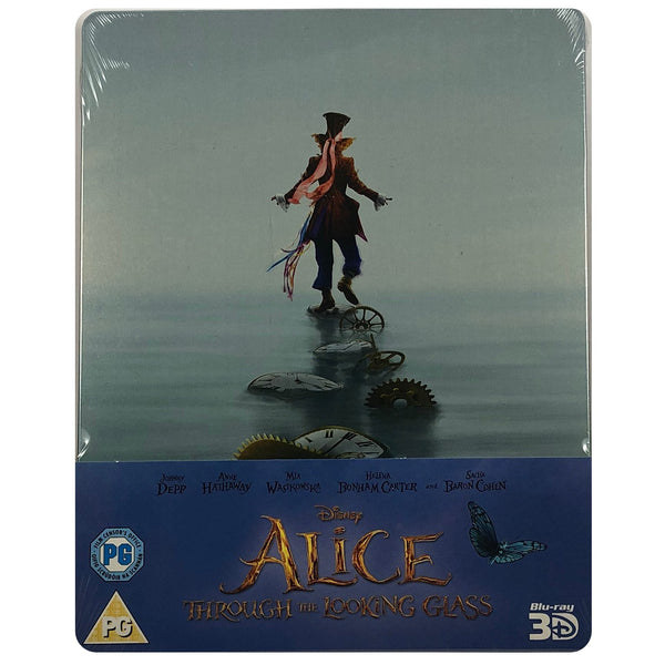 Alice Through The Looking Glass Blu-Ray Steelbook
