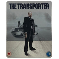 The Transporter Blu-Ray Steel Pack