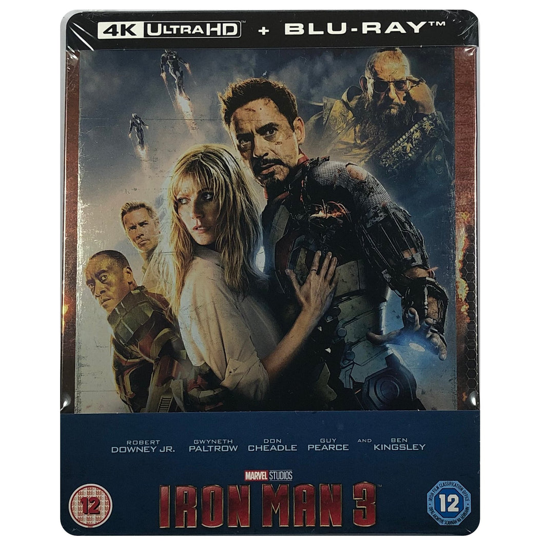 Iron Man 3 4K Blu-Ray