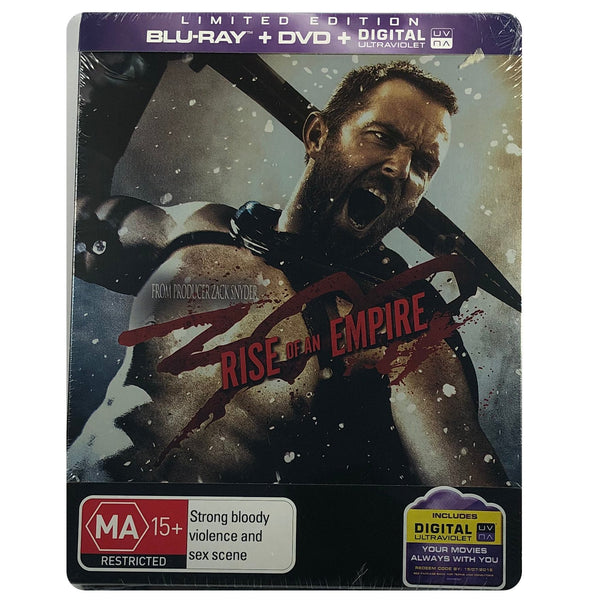 300: Rise of an Empire Blu-Ray  Steelbook