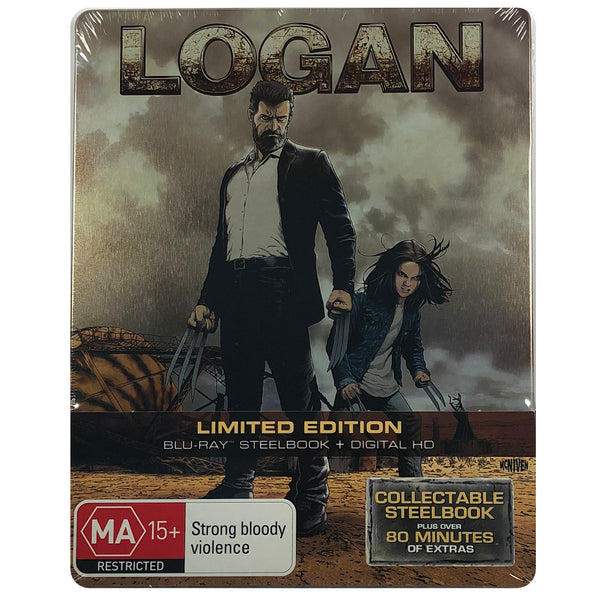 Logan Blu-Ray Steelbook