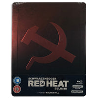 Red Heat 4K Steelbook