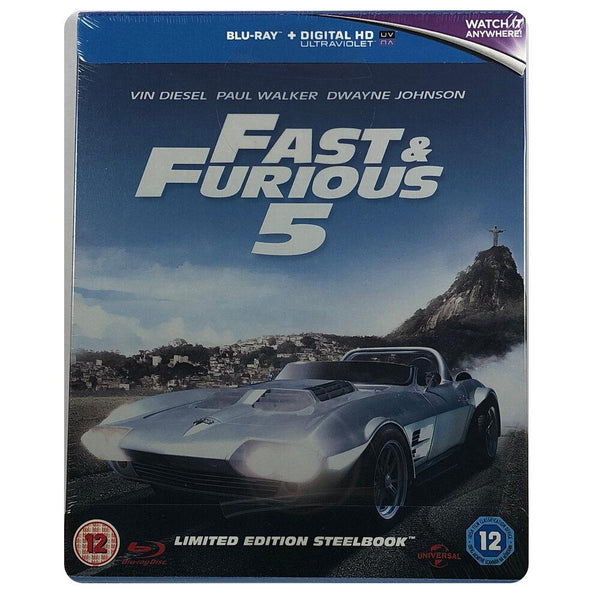 Fast and Furious 5 Blu-Ray Steelbook
