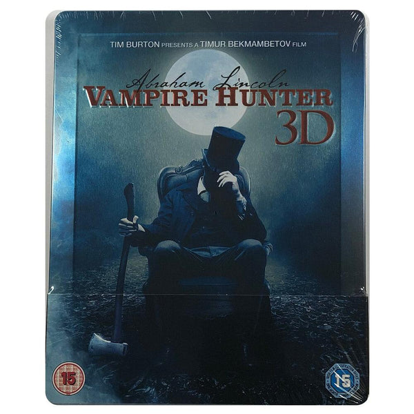 Abraham Lincoln Vampire Hunter 3D Blu-Ray Steelbook