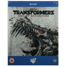 Load image into Gallery viewer, Transformers 4: Age of Extinction Blu-Ray Steelbook