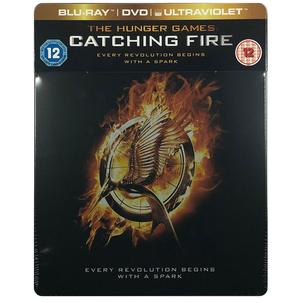 The Hunger Games: Catching Fire Blu-Ray Steelbook