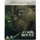 Star Wars Attack Of The Clones Blu-Ray Steelbook
