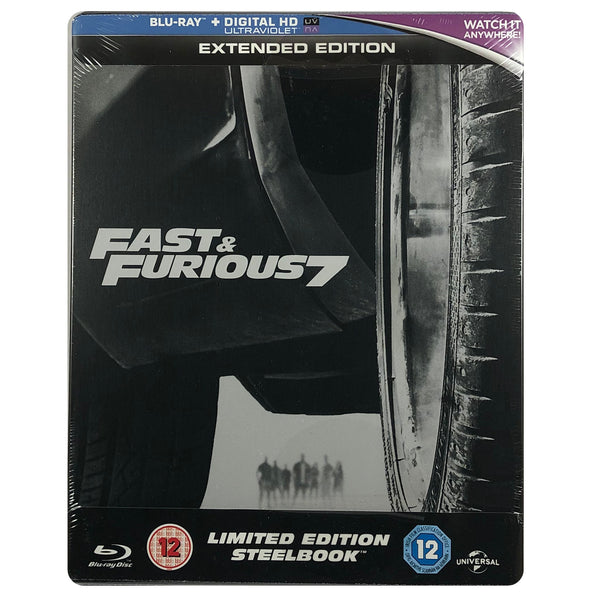 Fast And Furious 7 Blu-Ray Steelbook