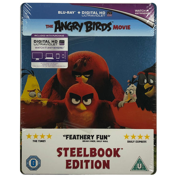 The Angry Birds Movie Blu-Ray Steelbook