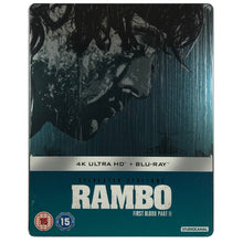 Load image into Gallery viewer, Rambo First Blood Part II 4K Steelbook