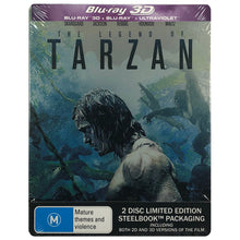 Load image into Gallery viewer, The Legend Of Tarzan 3D Blu-Ray Steelbook