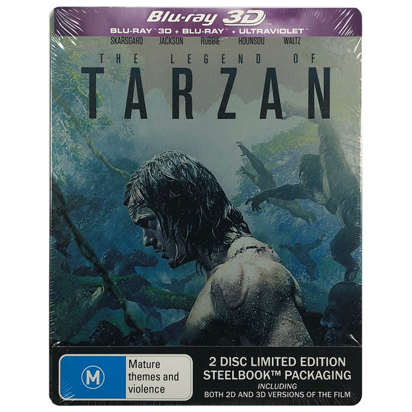 The Legend Of Tarzan 3D Blu-Ray Steelbook
