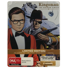 Load image into Gallery viewer, Kingsman: The Golden Circle 4K Steelbook