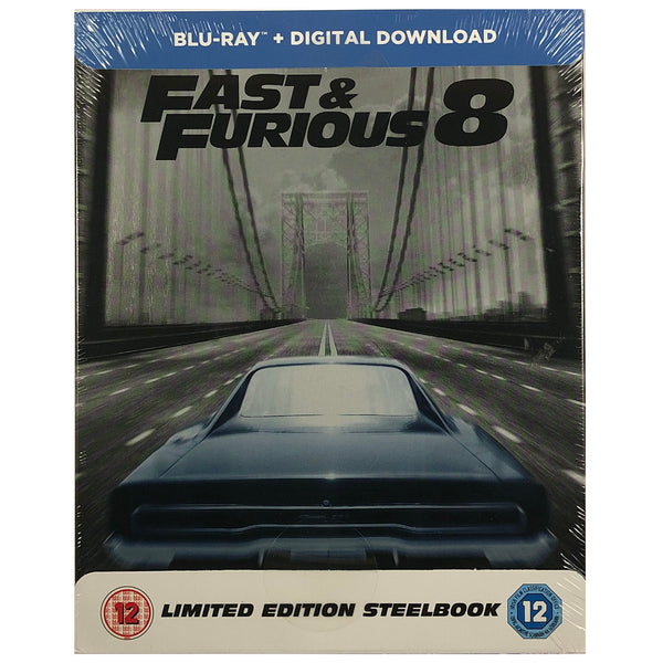 Fast And Furious 8 Blu-Ray Steelbook