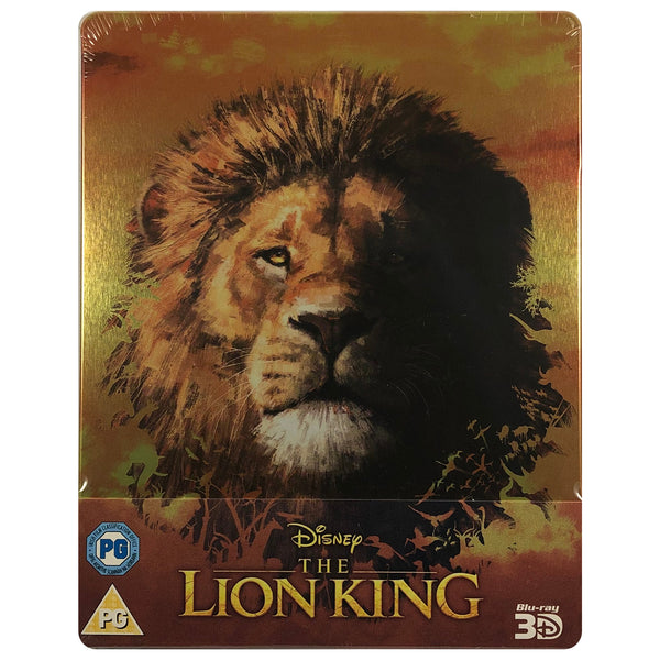 The Lion King (Live Action) 3D Blu-Ray Steelbook