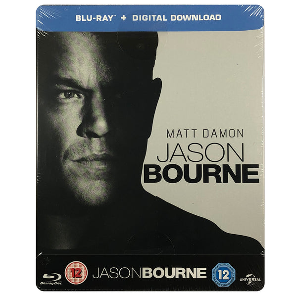 Jason Bourne Blu-Ray Steelbook