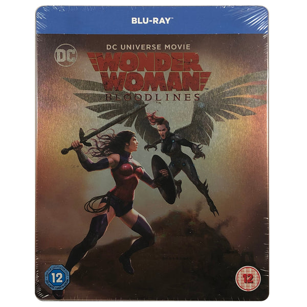 Wonder Woman Bloodlines Blu-Ray Steelbook