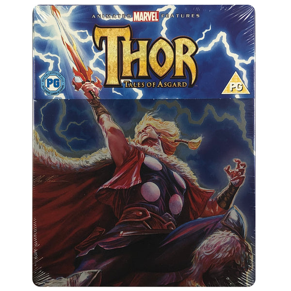 Thor: Tales Of Asgard Blu-Ray Steelbook