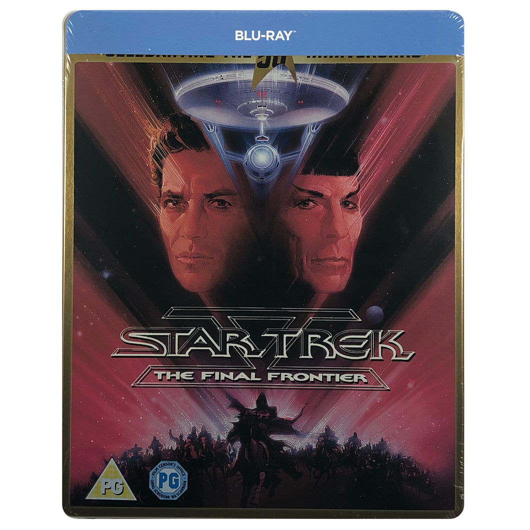Star Trek V : The Final Frontier Blu-Ray Steelbook