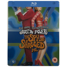 Load image into Gallery viewer, Austin Powers: The Spy Who Shagged Me Blu-Ray Steelbook