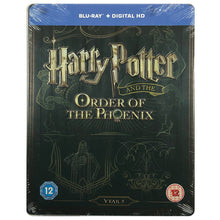 Load image into Gallery viewer, Harry Potter And The Order Of The Phoenix Blu-Ray Steelbook