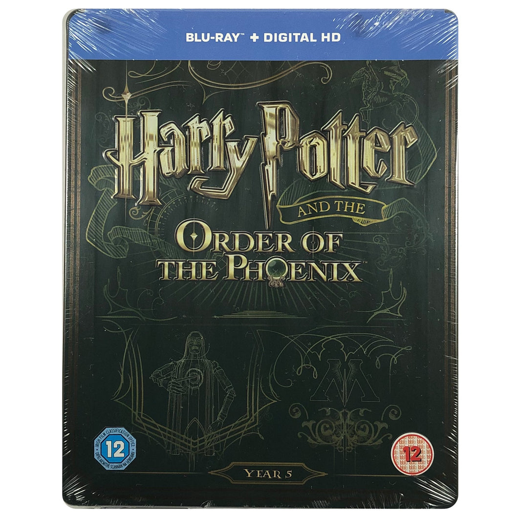 Harry Potter And The Order Of The Phoenix Blu-Ray Steelbook